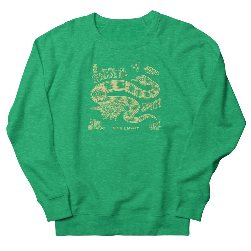 Snake Oil Women's Sweatshirt by redleggerstudio's Shop