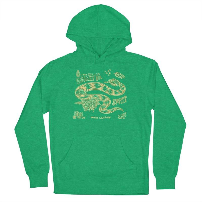 Snake Oil Men's Pullover Hoody by redleggerstudio's Shop