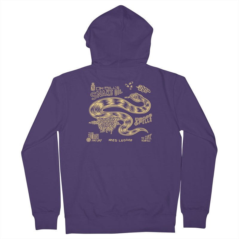 Snake Oil Women's French Terry Zip-Up Hoody by redleggerstudio's Shop