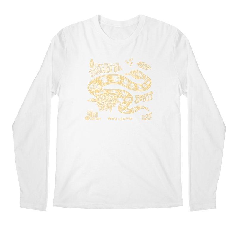 Snake Oil Men's Regular Longsleeve T-Shirt by redleggerstudio's Shop