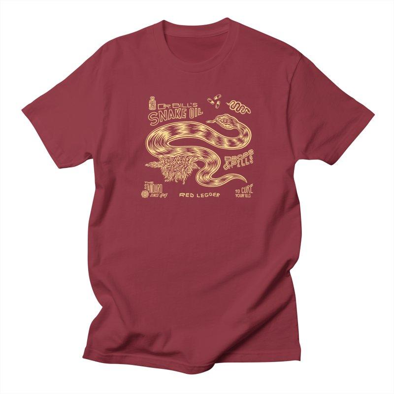 Snake Oil Men's Regular T-Shirt by redleggerstudio's Shop