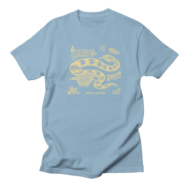 Snake Oil Women's Regular Unisex T-Shirt by redleggerstudio's Shop