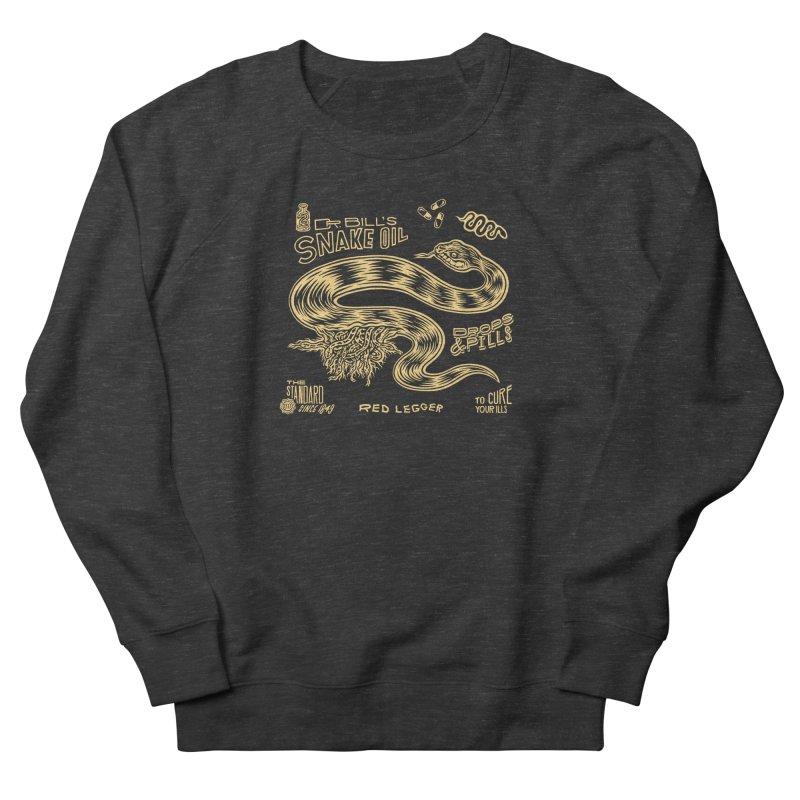 Snake Oil Men's French Terry Sweatshirt by redleggerstudio's Shop