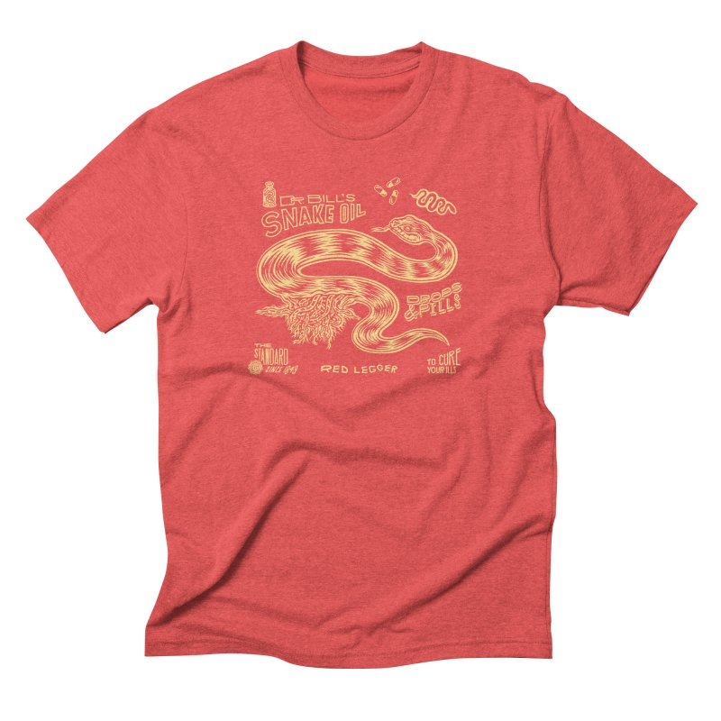 Snake Oil Men's Triblend T-Shirt by redleggerstudio's Shop