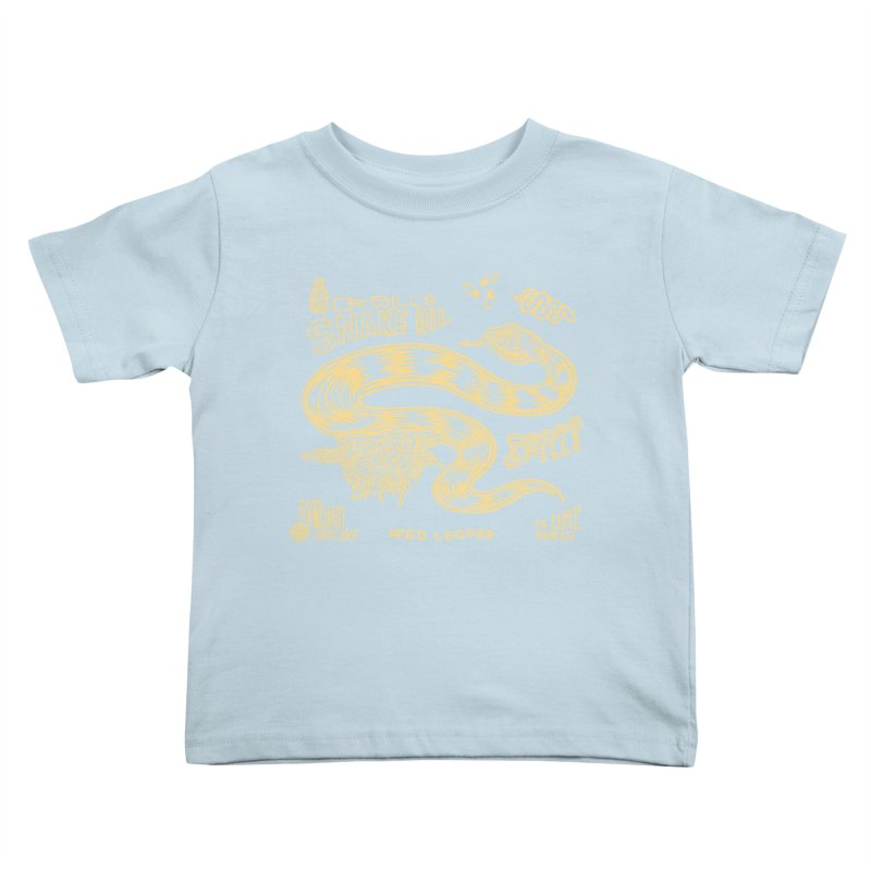 Snake Oil Kids Toddler T-Shirt by redleggerstudio's Shop
