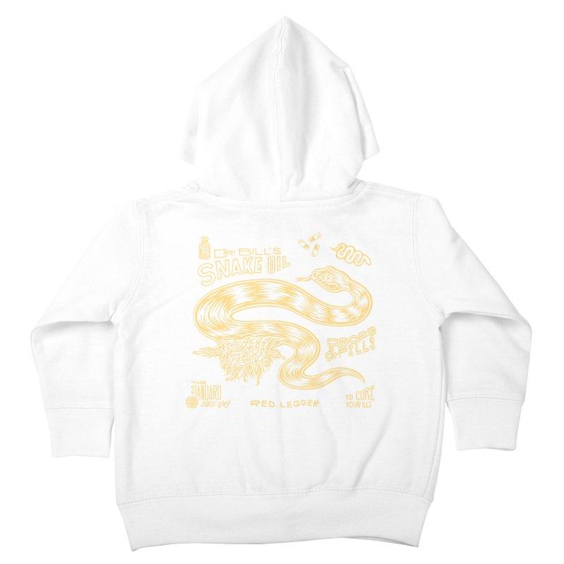 Snake Oil Kids Toddler Zip-Up Hoody by redleggerstudio's Shop