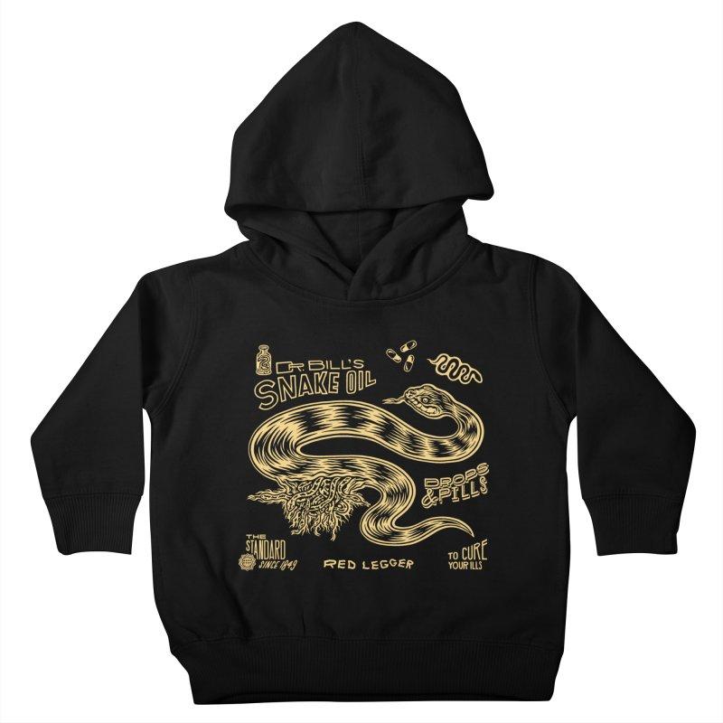 Snake Oil Kids Toddler Pullover Hoody by redleggerstudio's Shop