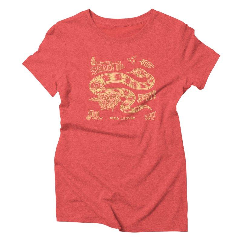Snake Oil Women's Triblend T-Shirt by redleggerstudio's Shop