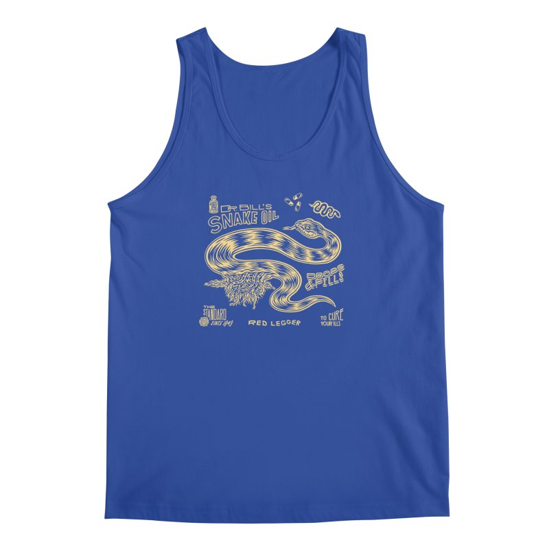 Snake Oil Men's Regular Tank by redleggerstudio's Shop