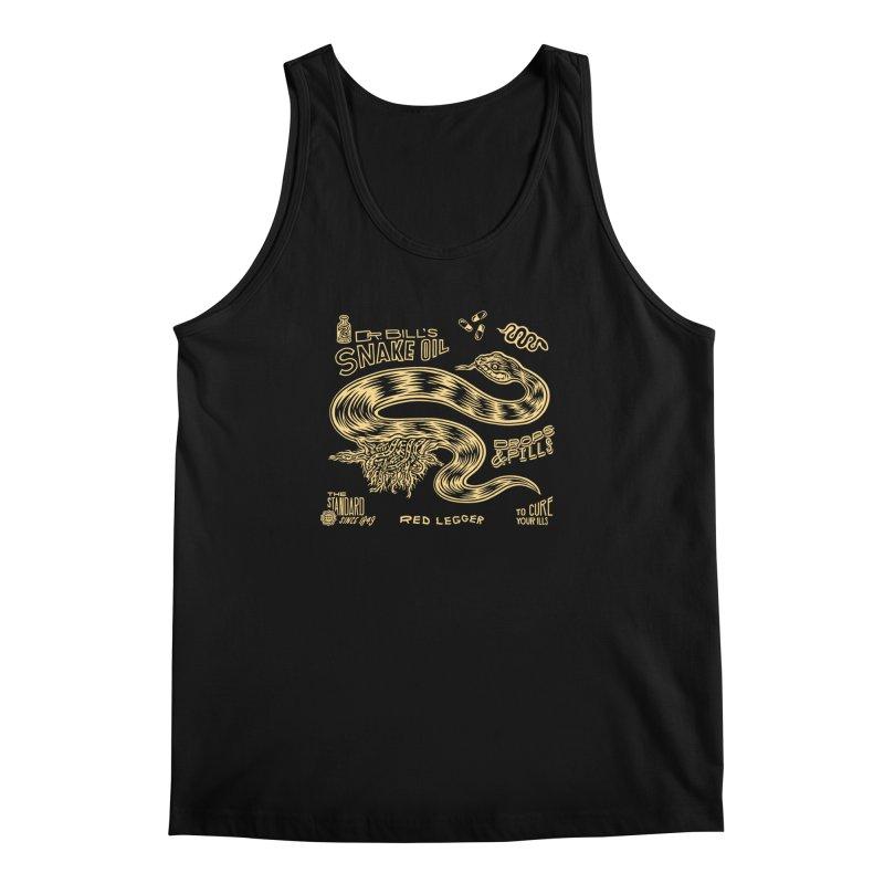 Snake Oil Men's Regular Tank by redleggerstudio's Shop