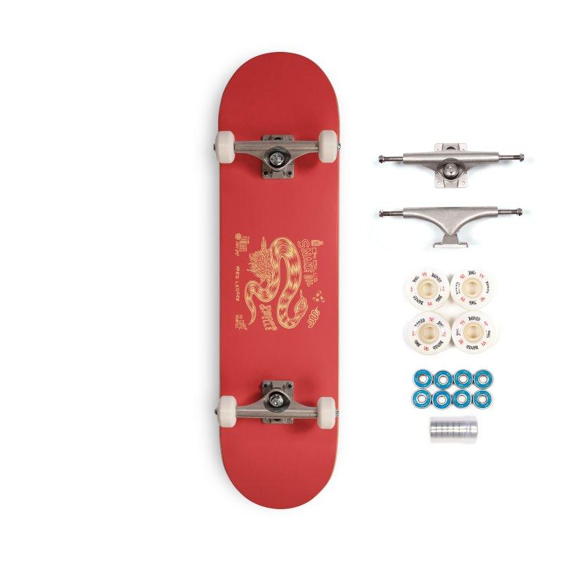 Snake Oil Accessories Complete - Premium Skateboard by redleggerstudio's Shop