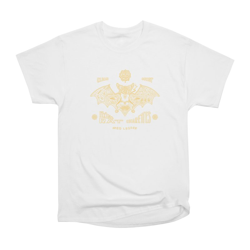 Flying Rat Women's Heavyweight Unisex T-Shirt by redleggerstudio's Shop