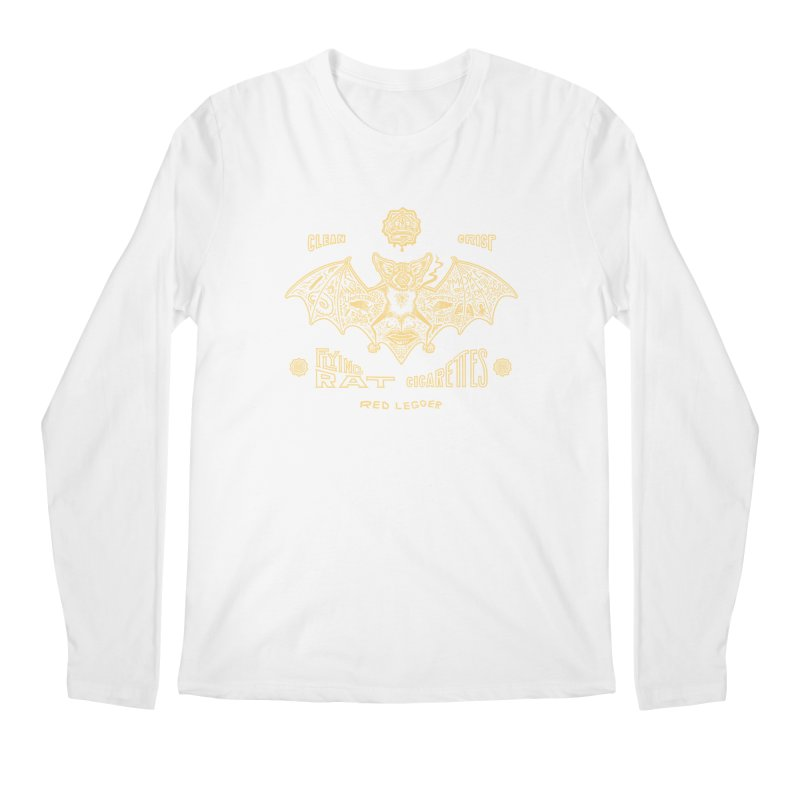 Flying Rat Men's Longsleeve T-Shirt by redleggerstudio's Shop
