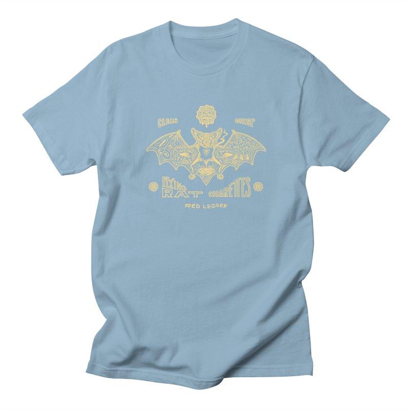 Flying Rat Men's Regular T-Shirt by redleggerstudio's Shop