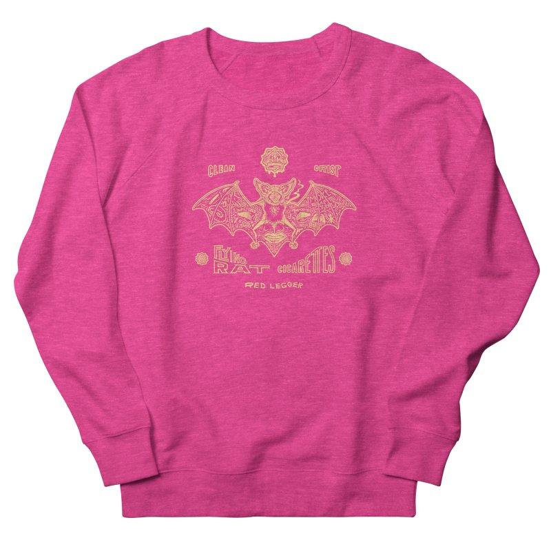 Flying Rat Men's French Terry Sweatshirt by redleggerstudio's Shop
