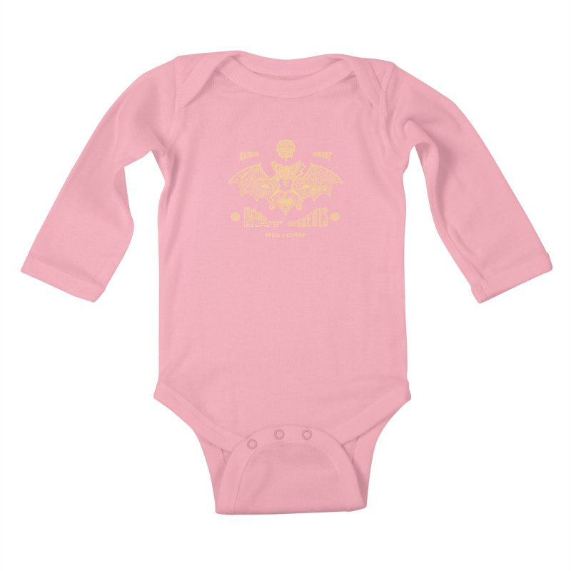 Flying Rat Kids Baby Longsleeve Bodysuit by redleggerstudio's Shop