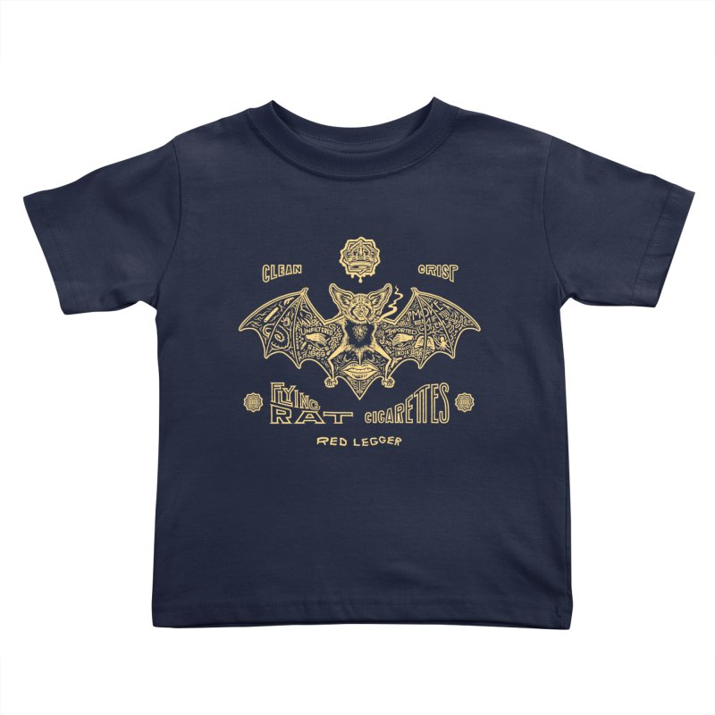 Flying Rat Kids Toddler T-Shirt by redleggerstudio's Shop