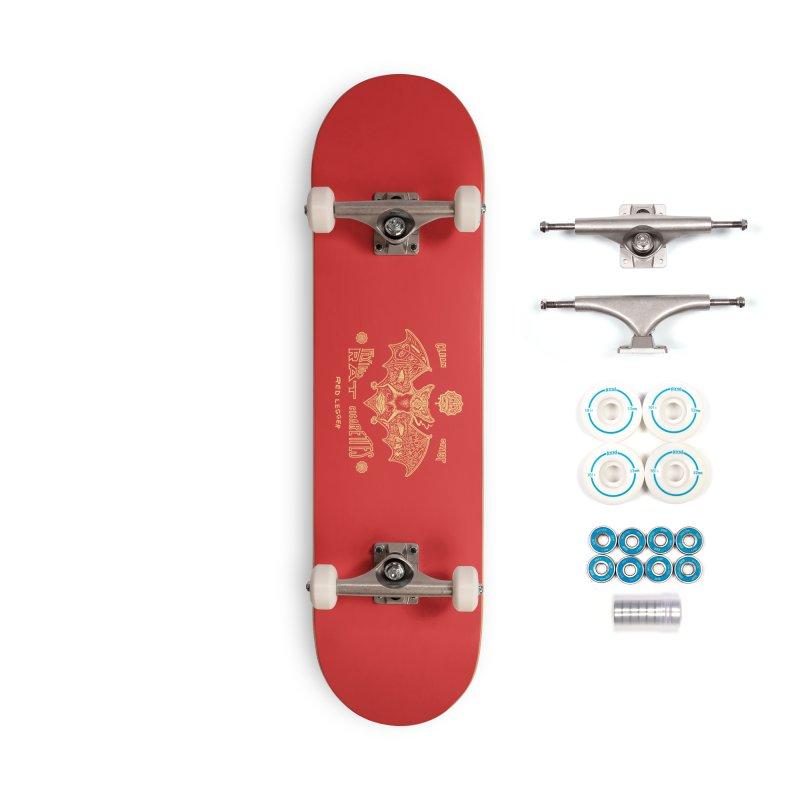 Flying Rat Accessories Complete - Basic Skateboard by redleggerstudio's Shop