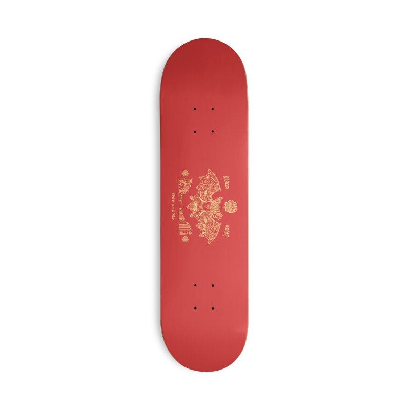 Flying Rat Accessories Skateboard by redleggerstudio's Shop