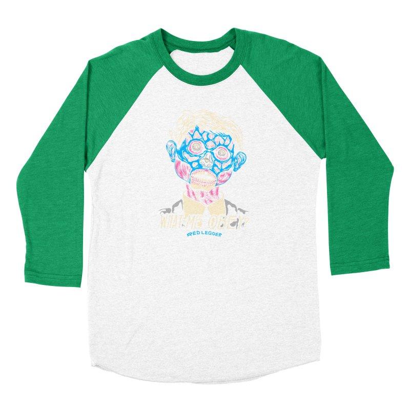 What-Me OBEY? Women's Baseball Triblend Longsleeve T-Shirt by redleggerstudio's Shop