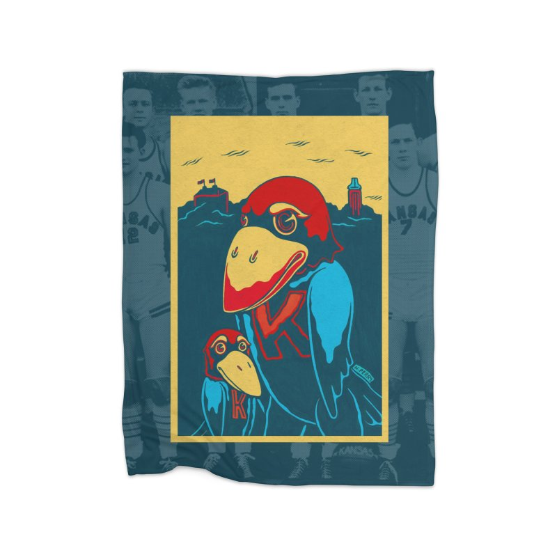 The Jays Home Fleece Blanket Blanket by redleggerstudio's Shop
