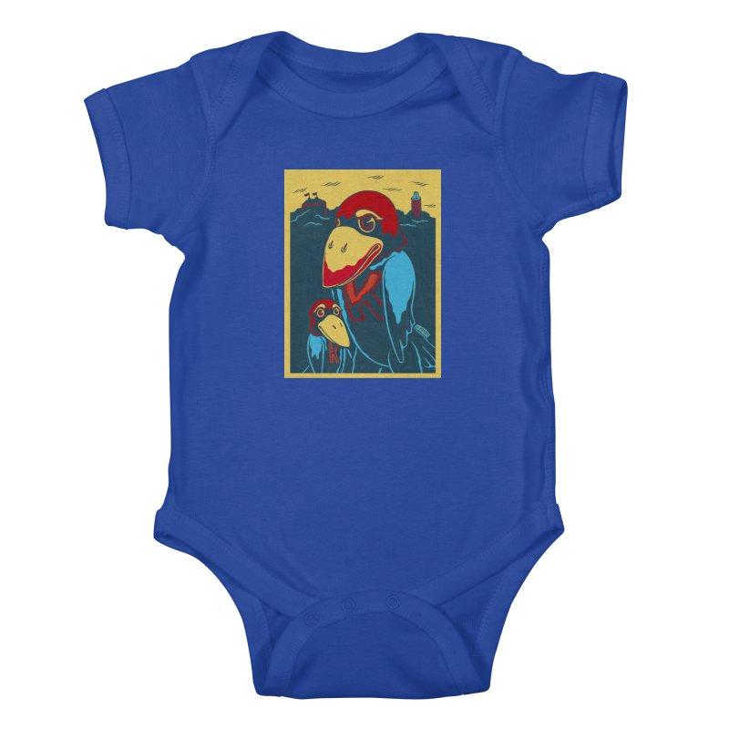 The Jays Kids Baby Bodysuit by redleggerstudio's Shop