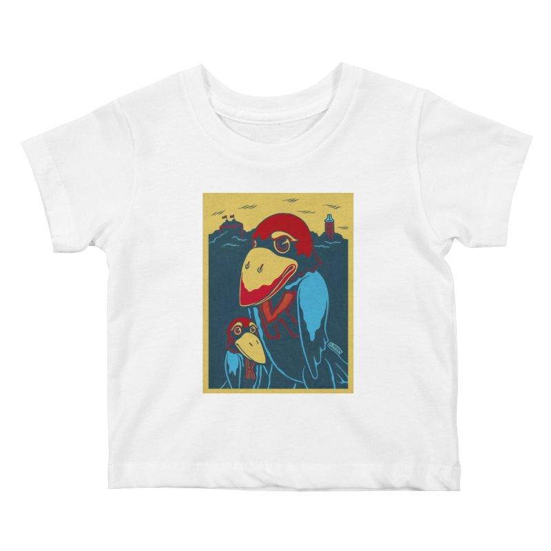 The Jays Kids Baby T-Shirt by redleggerstudio's Shop