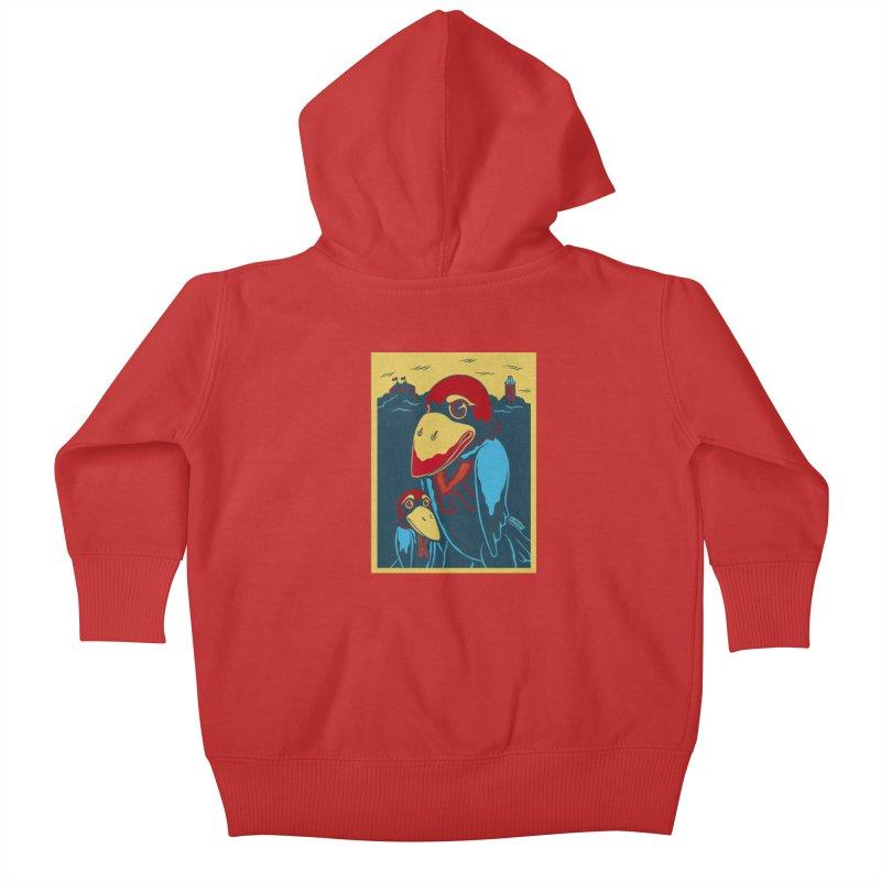 The Jays Kids Baby Zip-Up Hoody by redleggerstudio's Shop