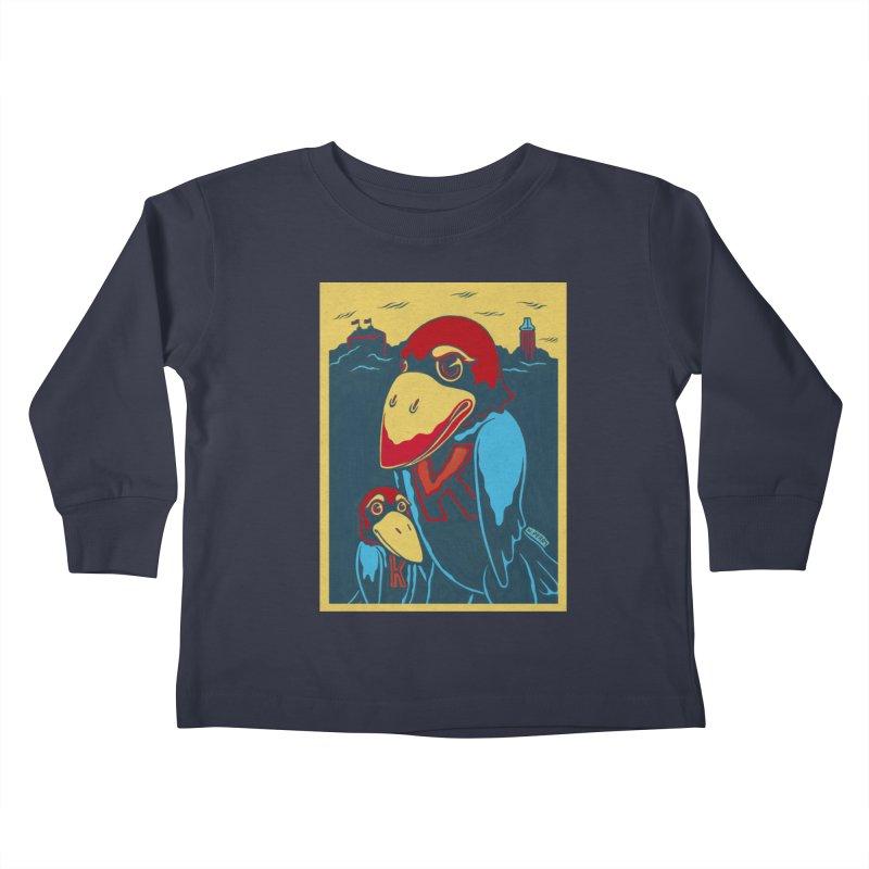 The Jays Kids Toddler Longsleeve T-Shirt by redleggerstudio's Shop