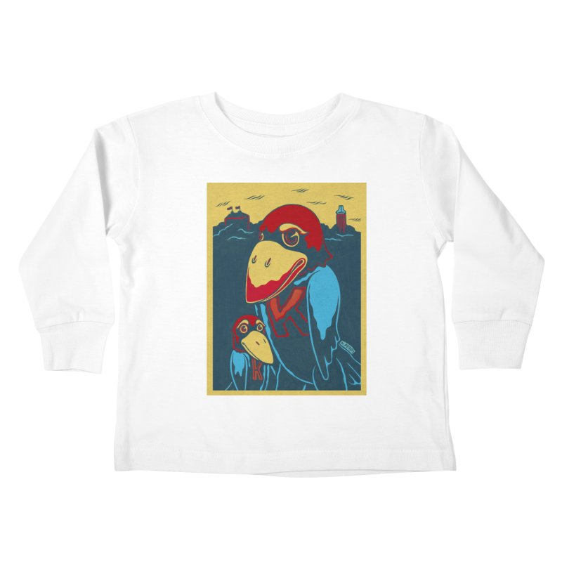 The Jays Kids Toddler Longsleeve T-Shirt by redleggerstudio's Shop