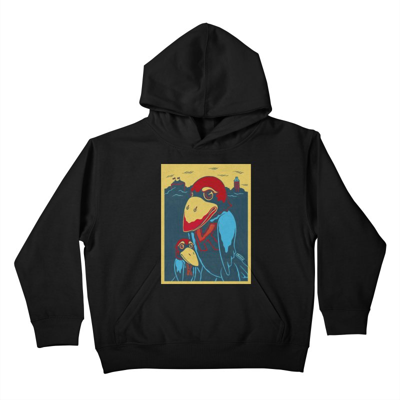 The Jays Kids Pullover Hoody by redleggerstudio's Shop