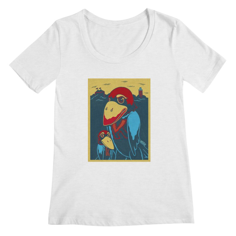 The Jays Women's Regular Scoop Neck by redleggerstudio's Shop
