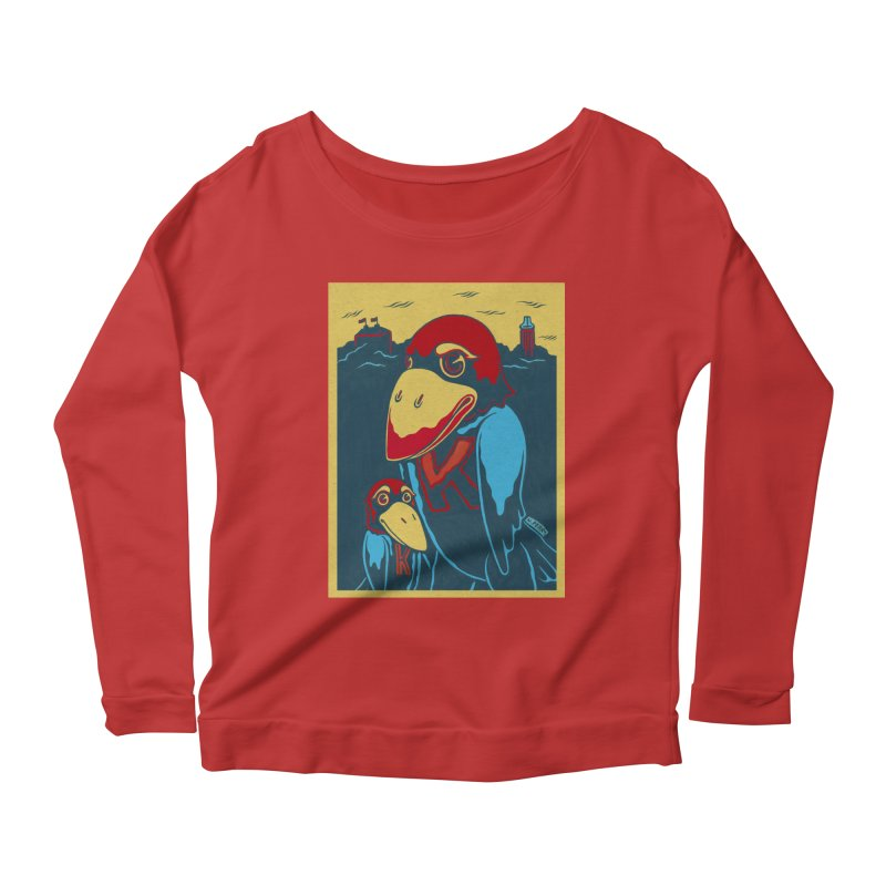 The Jays Women's Scoop Neck Longsleeve T-Shirt by redleggerstudio's Shop