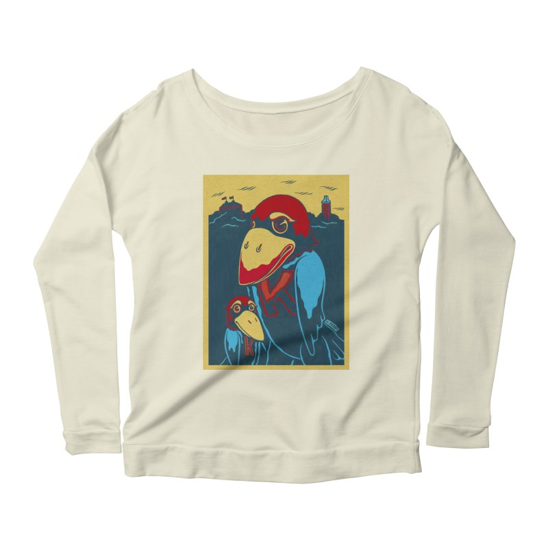 The Jays Women's Scoop Neck Longsleeve T-Shirt by redleggerstudio's Shop