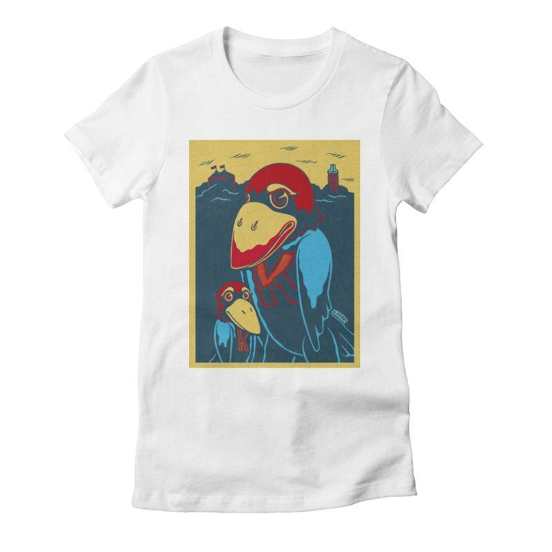 The Jays Women's Fitted T-Shirt by redleggerstudio's Shop