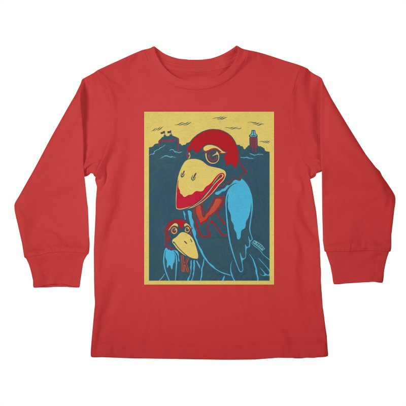 The Jays Kids Longsleeve T-Shirt by redleggerstudio's Shop