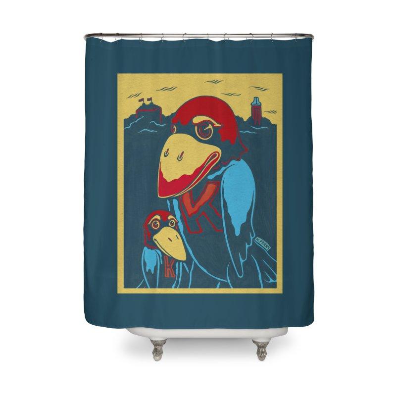 The Jays Home Shower Curtain by redleggerstudio's Shop