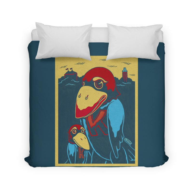 The Jays Home Duvet by redleggerstudio's Shop