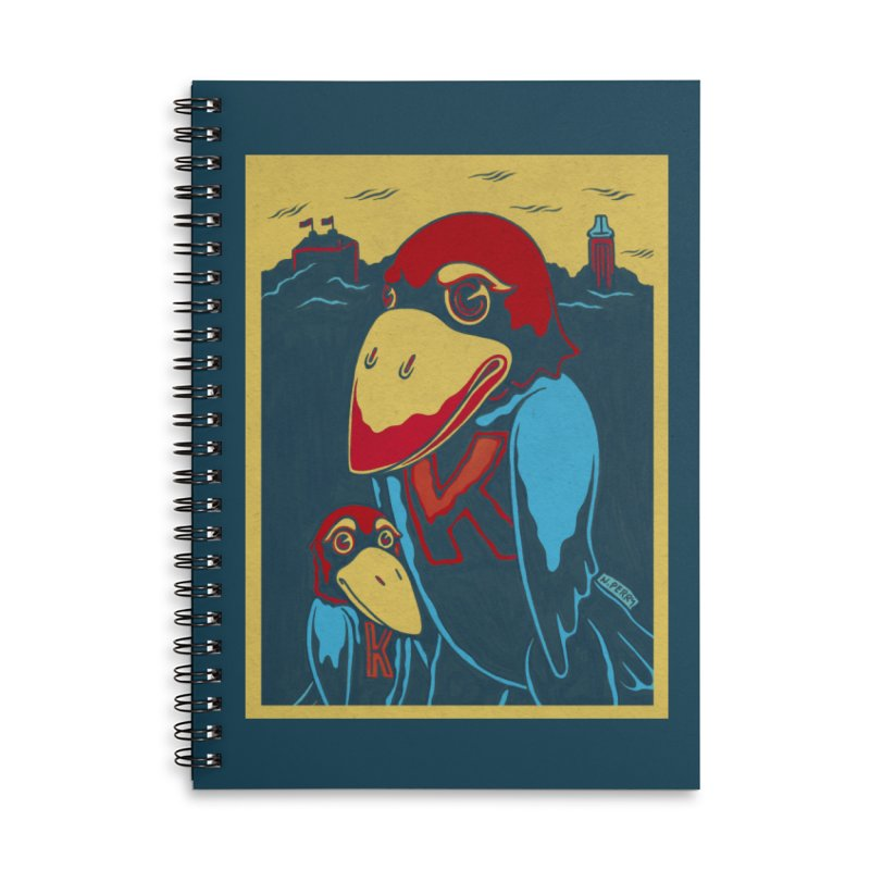 The Jays Accessories Lined Spiral Notebook by redleggerstudio's Shop