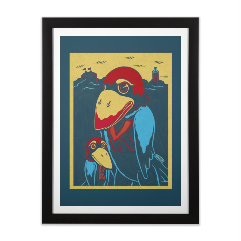 The Jays Home Framed Fine Art Print by redleggerstudio's Shop