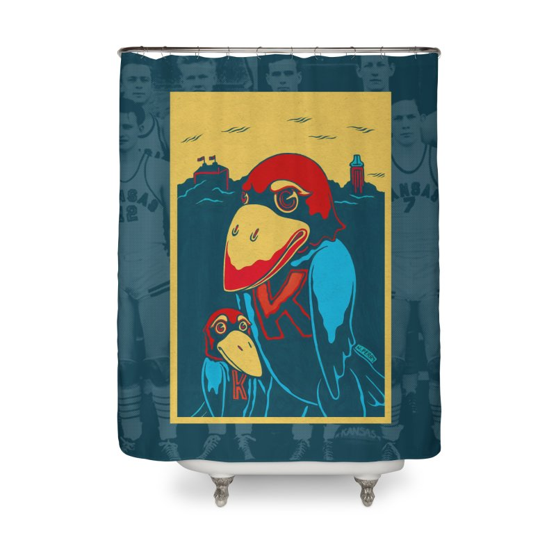 The Jays Home Shower Curtain by redleggerstudio's Shop