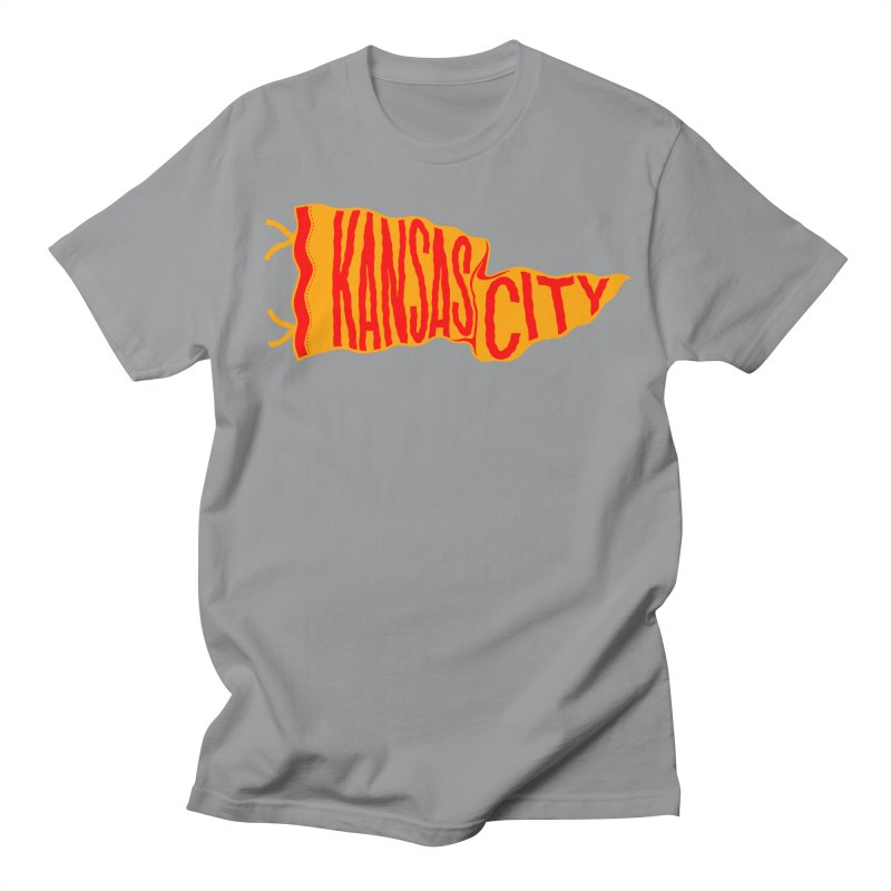 Kansas City Pennant No. 1 Women's Regular Unisex T-Shirt by redleggerstudio's Shop