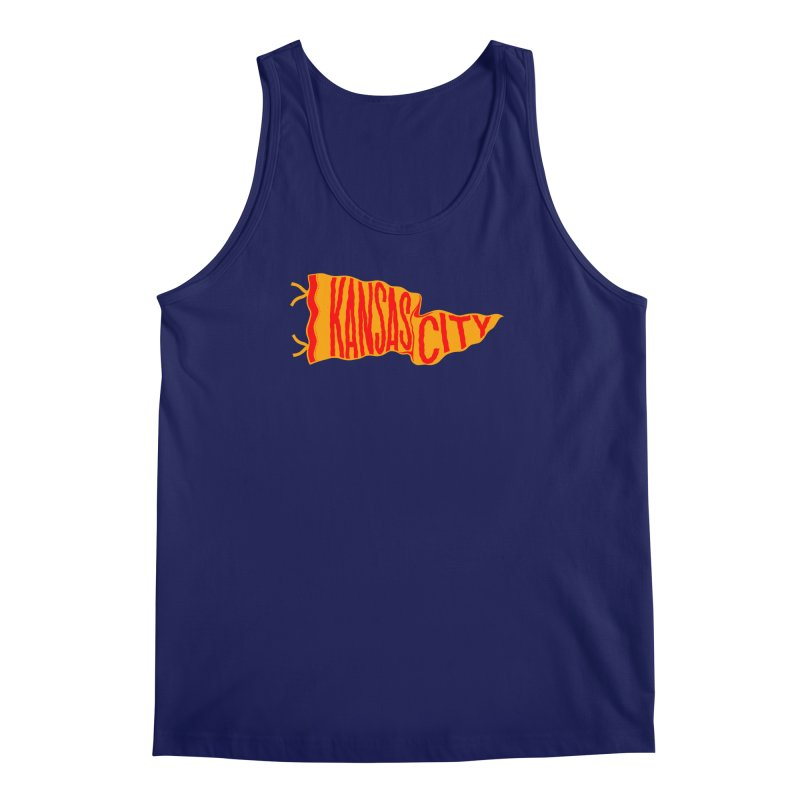 Kansas City Pennant No. 1 Men's Regular Tank by redleggerstudio's Shop