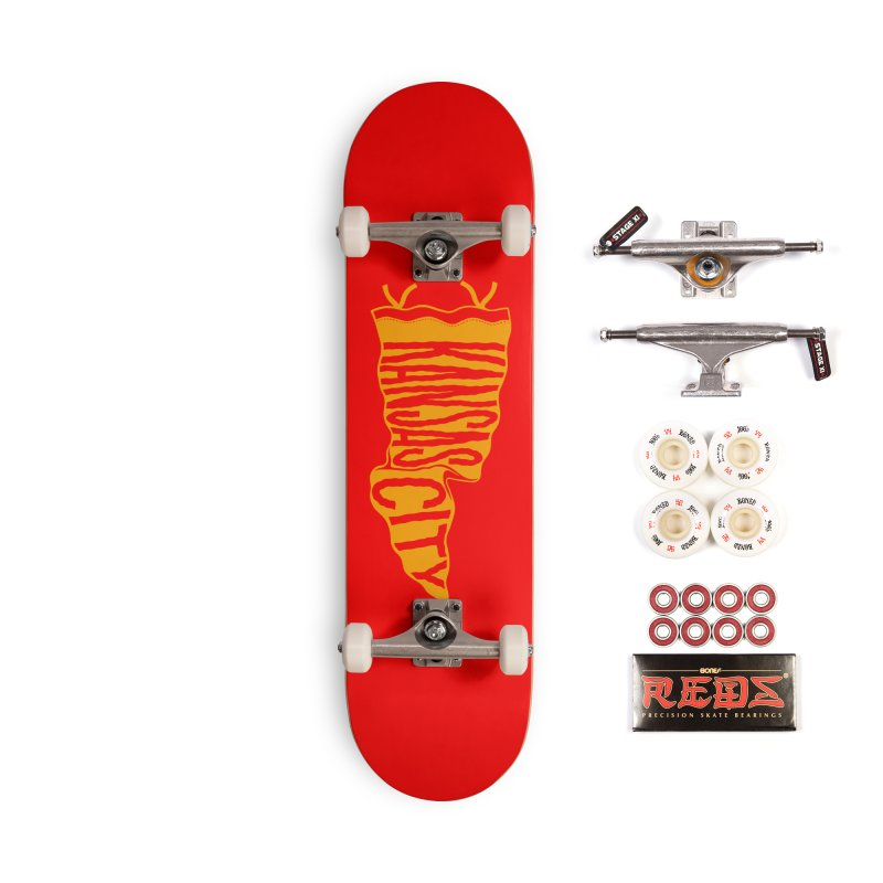 Kansas City Pennant No. 1 Accessories Complete - Pro Skateboard by redleggerstudio's Shop