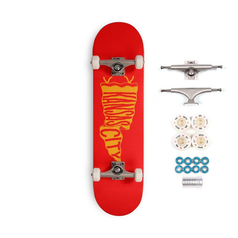 Kansas City Pennant No. 1 Accessories Complete - Premium Skateboard by redleggerstudio's Shop