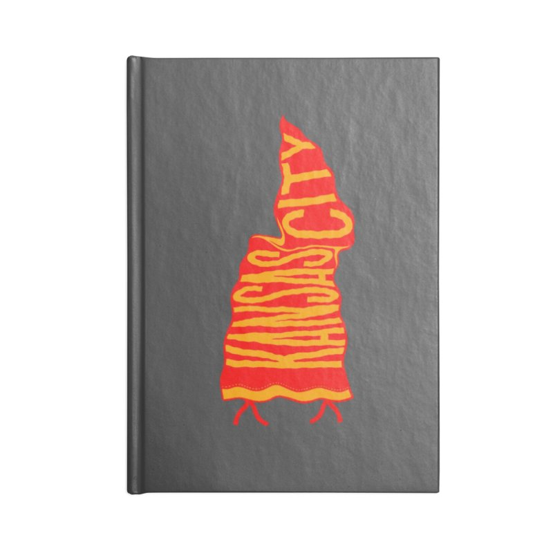 Kansas City Pennant No. 2 Accessories Notebook by redleggerstudio's Shop