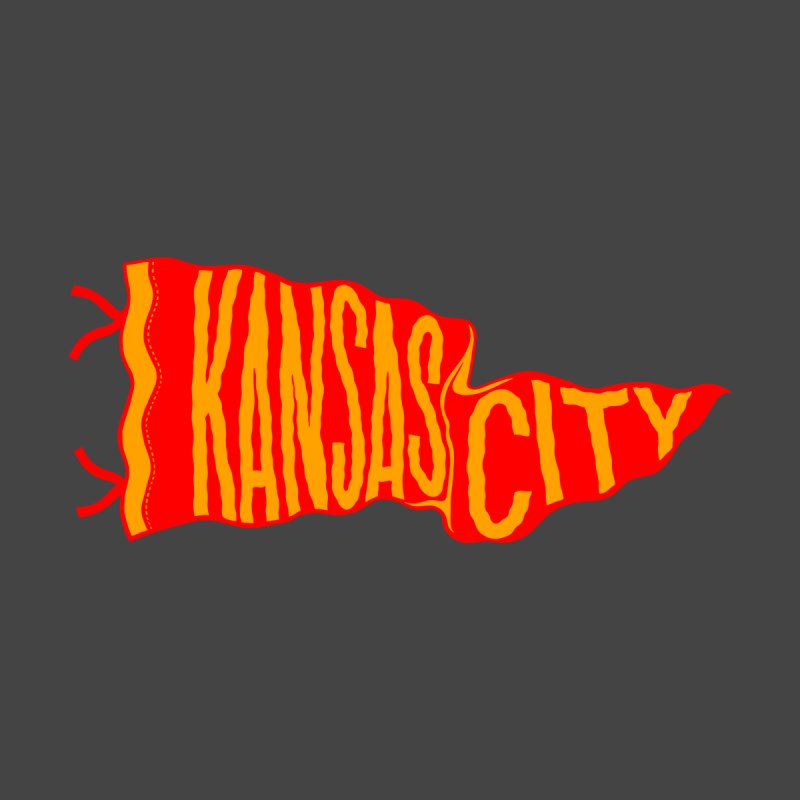 Kansas City Pennant No. 2 by redleggerstudio's Shop