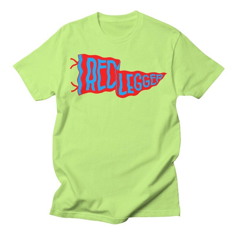RED LEGGER PENNANT Men's Regular T-Shirt by redleggerstudio's Shop