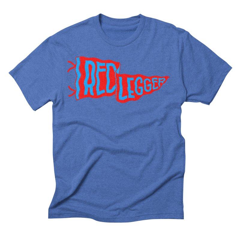 RED LEGGER PENNANT Men's Triblend T-Shirt by redleggerstudio's Shop