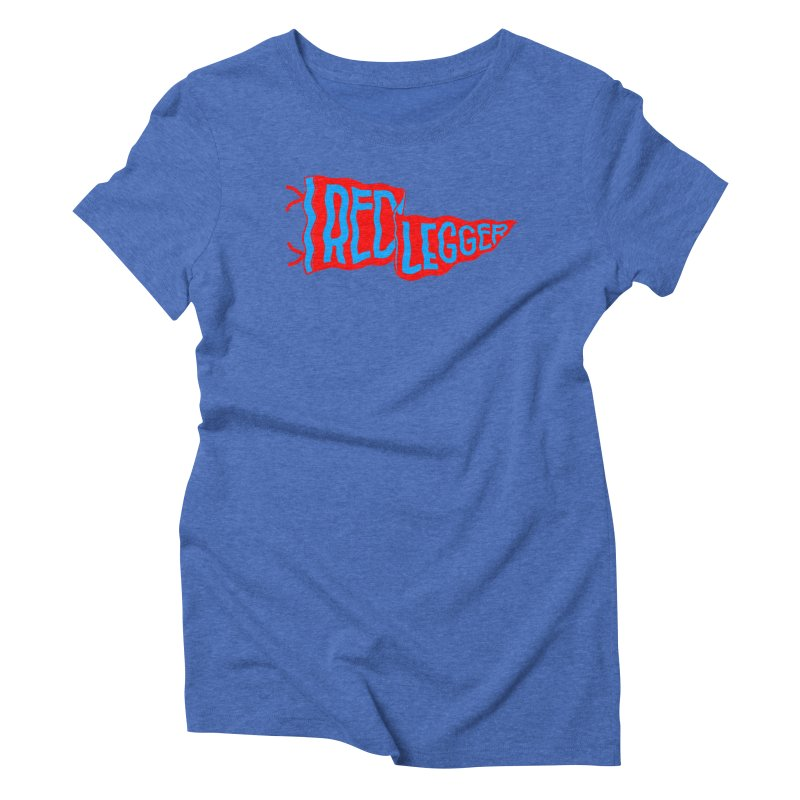 RED LEGGER PENNANT Women's Triblend T-Shirt by redleggerstudio's Shop